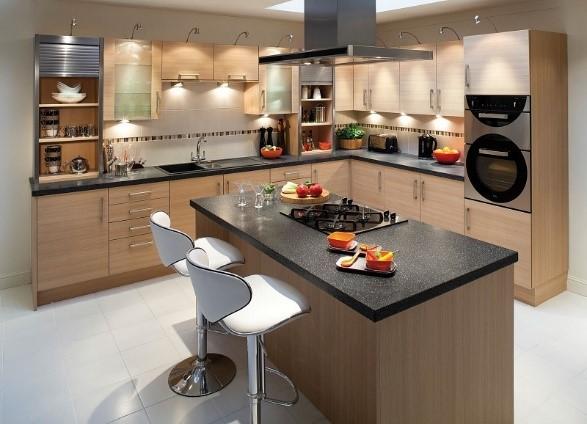 Mẫu nhà bếp đẹp dành cho nhà phố