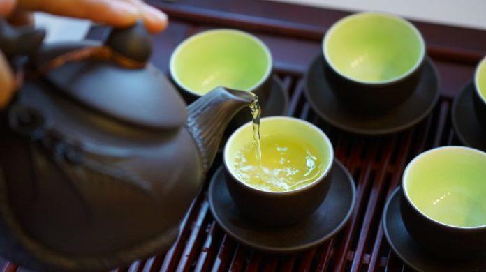 tác dụng của trà xanh trong việc chống oxy hóa