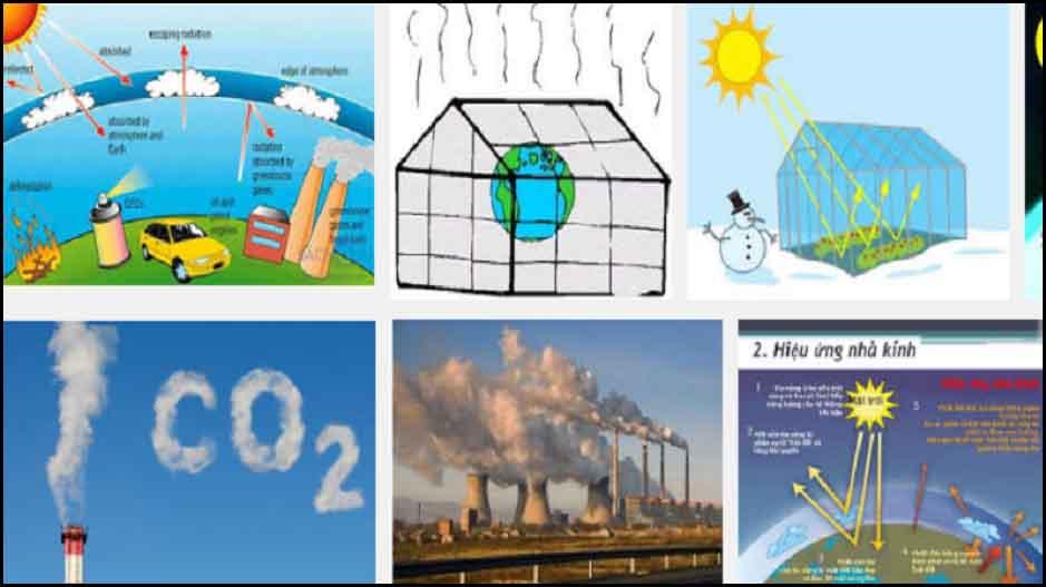 chất khí gây ra hiệu ứng nhà kính