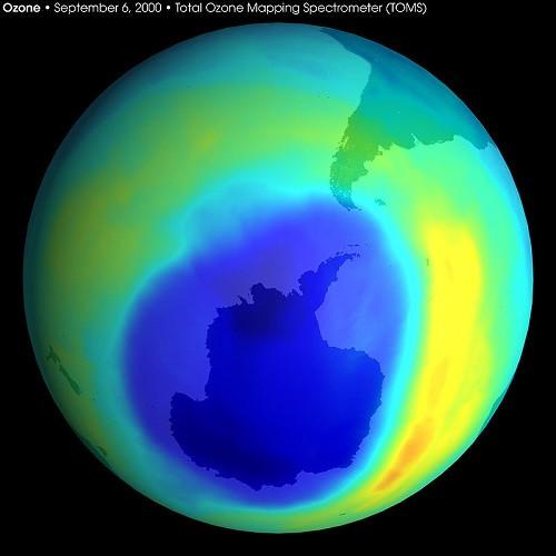 Thủng tầng ozon ở Nam Cực