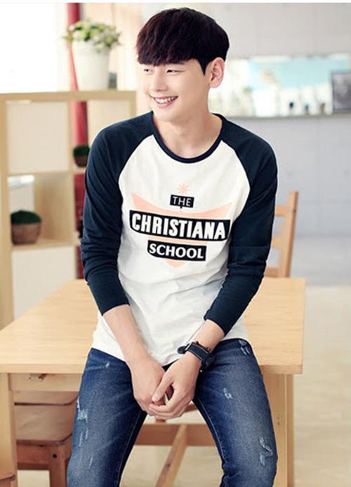 Mẫu áo thun tay dài Hàn Quốc