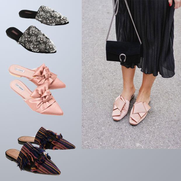 Mulles là mẫu giày tiện dụng cho phái nữ