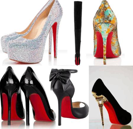 Những đôi giày cao gót đế đỏ huyền thoại