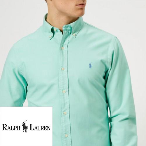 Sơ mi thêu logo Ralph Lauren