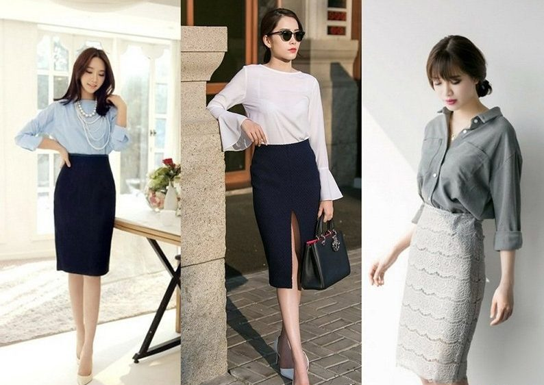 Những mẫu váy công sở thanh lịch cho các cô nàng văn phòng